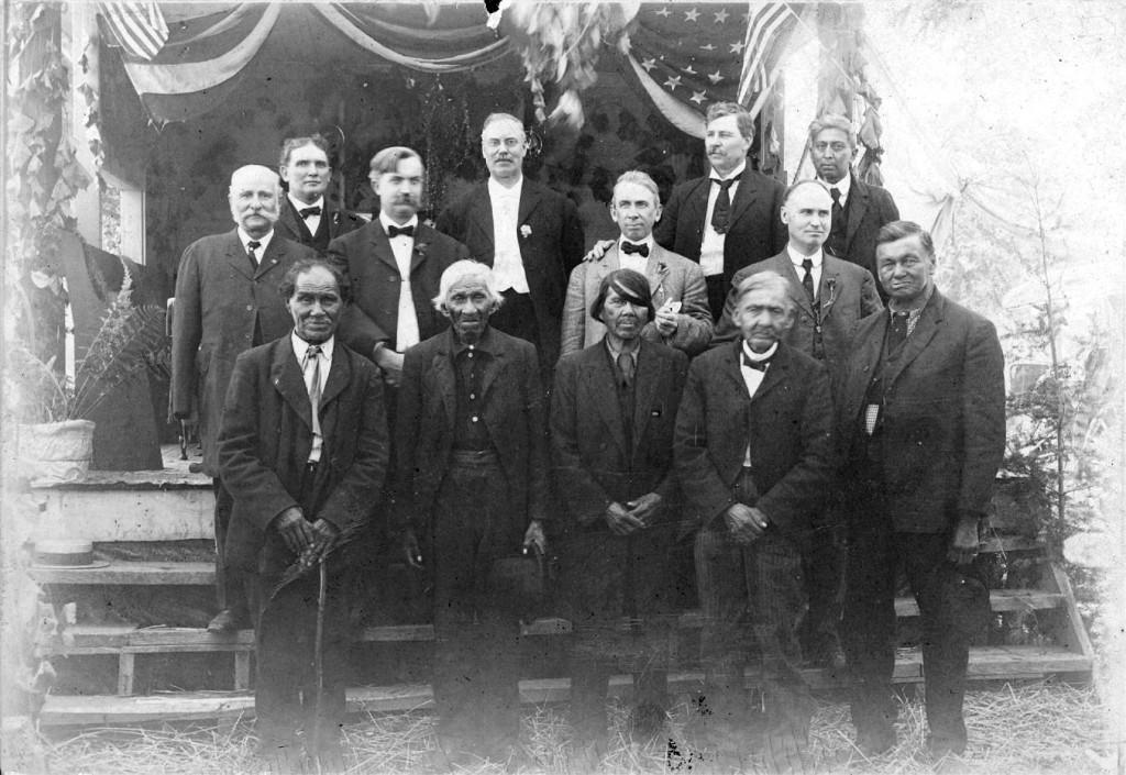 ministry group john waukazoo 1910